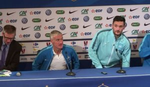 Foot: Deschamps s'attend à un match difficile face à l'Allemagne