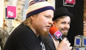 Steve 'N' Seagulls : live session aux Trans Musicales 2015