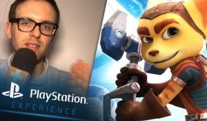 PlayStation Experience : Ratchet & Clank, nos impressions