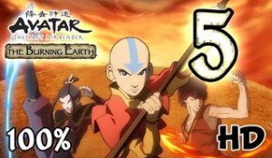 Avatar The Last Airbender: Burning Earth Walkthrough Part 5 | 100% (X360, Wii, PS2) HD