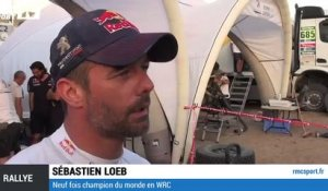 "Dakar - Loeb: ""On redescend sur terre"""