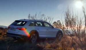 L'Audi A4 Allroad en excursion hors piste