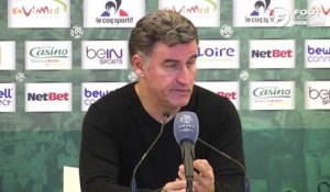 ASSE - OL : la satisfaction de Christophe Galtier