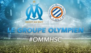 OM-Montpellier : les 19 Olympiens