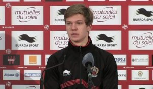 Foot - L1 - OGCN : Koziello «On a su réagir de suite»