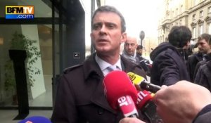 "Taxis: Valls condamne des violences ""inadmissibles"""