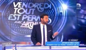 Cyril  Hanouna justifie son absence de VTEP