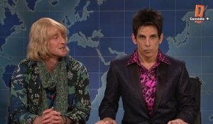 Derek Zoolander et Hansel dans le Saturday Night Live du 06/02