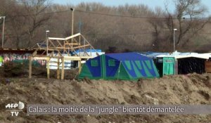 Démantèlement de la jungle de Calais: les associations inquiètes