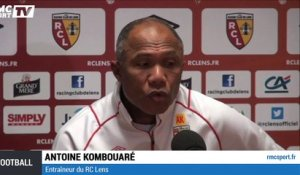 "Lens - Kombouaré : ""Un exploit si on monte en Ligue 1"""