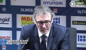 OL-PSG : la réaction à chaud de Laurent Blanc