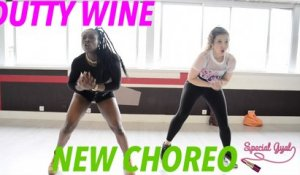 DUTTY WINE DANCEHALL CHOREO - AYA & MAYLEE - QUEEN'STONN