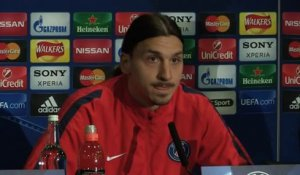 "Ligue des Champions: 8es - Ibrahimovic : ""La clé du match ? Un secret !"""