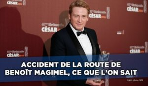 Accident de la route de Benoît Magimel: Ce que l'on sait