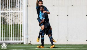 U19 National - OM 4-0 Cannes : le but de Bilal Boutobba (10e)
