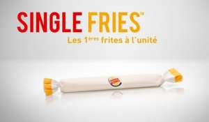 Single Fries : le poisson d'Avril de Burger King