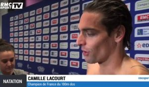 "Natation (France) : Lacourt ""soulagé"""