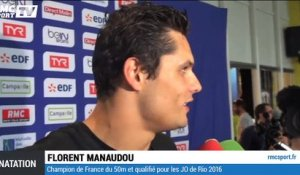 Natation (France) : Manaudou part à Rio