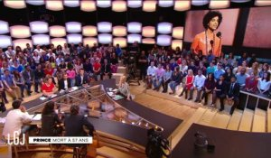RIP Prince - Le Grand Journal du 21/04 - CANAL +