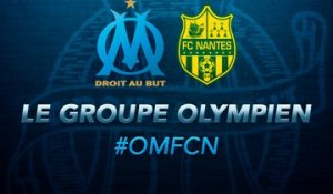 OM-Nantes : le groupe olympien