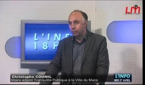Sécurité au Mans : Interview de Christophe Counil