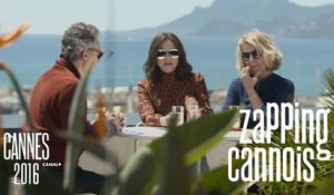 Zapping Cannois avec Marion Cotillard, Ryan Gosling, Russel Crowe - 15/05 Cannes 2016 CANAL+