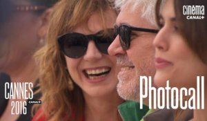 Pedro Almodóvar (Julieta) - Photocall Officiel - Cannes 2016 CANAL+