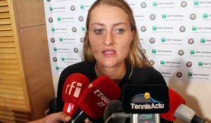 "Roland-Garros 2016 - Kristina Mladenovic : ""J'ai beaucoup appris contre Serena Williams"""