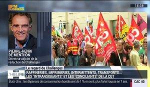 "Le regard de Challenges: Focus sur les ""intransigeants"" et les ""conciliants"" de la CGT - 31/05"
