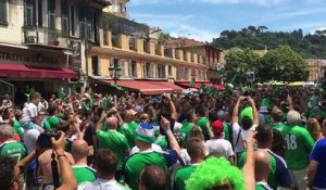 Will Grigg's on Fire : chanson des fans nord-irlandais (Euro 2016)