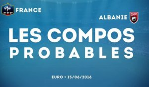 Les compositions probables de France - Albanie