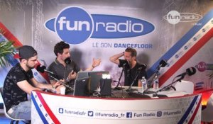 Dj Ralph en interview sur Fun Radio à l'EMF 2016