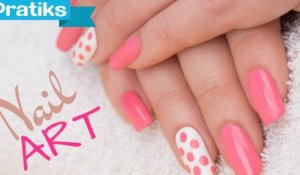 Comment faire un Nail Art brillant / mat - vernis à ongles bicolor