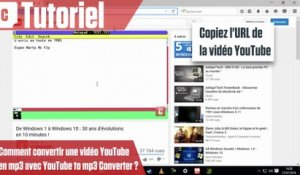 Comment convertir une vidéo YouTube en mp3 avec Free YouTube To mp3 Converter ?
