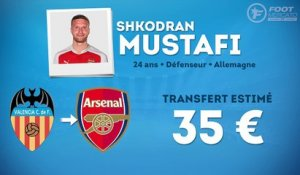 Officiel : Mustafi signe à Arsenal !
