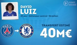 Officiel : David Luiz retourne à Chelsea !