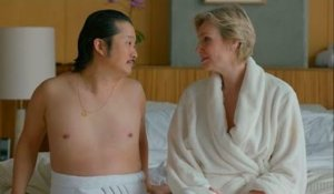 Jane Lynch and Bobby Lee on their romantic vacation