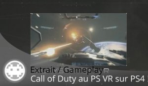 Extrait / Gameplay - Call of Duty VR - Jackal Assault (Gameplay PS4)