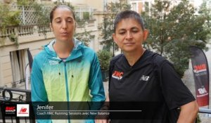RMC Running Sessions à Paris avec Muriel Hurtis