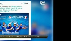 TENNIS - COUPE DAVIS : PAS DE SURPRISE CONTRE LA CROATIE