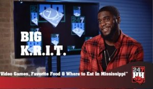 Big K.R.I.T. - Video Games, Favorite Food & Where to Eat In Mississippi (247HH Exclusive)
