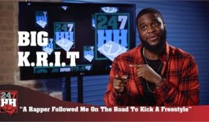 Big K.R.I.T. - Rapper Followed Me On The Road To Kick A Freestyle (247HH Wild Tour Stories) (247HH Wild Tour Stories)