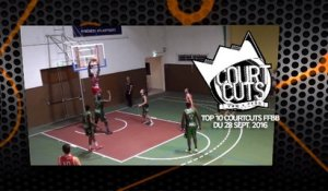 Top 10 CourtCuts FFBB du 24 Septembre
