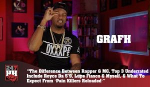 Grafh - Difference Between Rapper & MC, Top 3 Underrated MCs (247HH Exclusive) (247HH Exclusive)