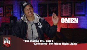 "Omen - The Making Of J  Cole's ""Enchanted"" For Friday Night Lights (247HH Exclusive) (247HH Exclusive)"