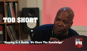 Too Short - Rapping Is A Hustle, We Share The Knowledge (247HH Exclusive) (247HH Exclusive)