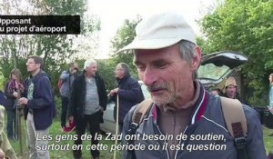 ND-des-Landes: des milliers d'opposants à l'aéroport
