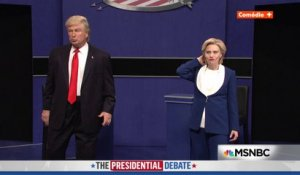 Trump vs. Clinton : Round 2 avec Alec Baldwin, Saturday Night Live du 15/10/16