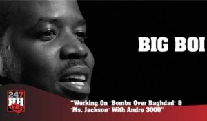 "Big Boi - Working On ""Bombs Over Baghdad"" & ""Ms. Jackson"" With Andre 3000 (247HH Archives) (247HH Archive)"