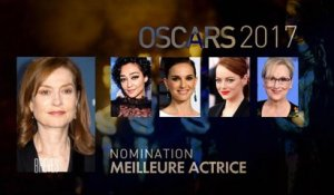 Les nominations aux Oscars 2017 dont Isabelle Huppert, La La Land et Moonlight